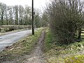 Path on grass verge - geograph.org.uk - 1766478.jpg