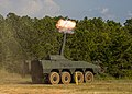 Patria NEMO 120 mm firing.jpg