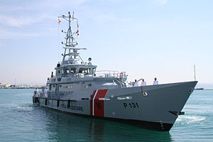 Law enforcement in Albania - Iliria Patrol Boat Class Damen Stan 4207