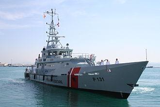 Law enforcement in Albania - Iliria Patrol Boat Class Damen Stan 4207