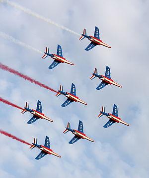 Patrouille de France - Image: Patrouille de France Radom 3 1