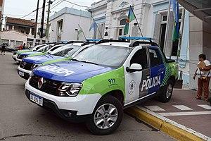 Buenos Aires Provincial Police - Bonaerense police vans.