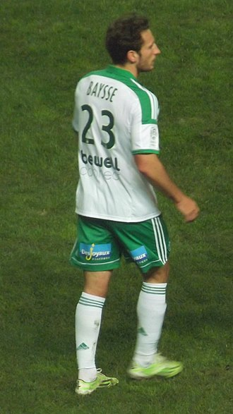 Paul Baysse - Baysse playing for Saint-Étienne