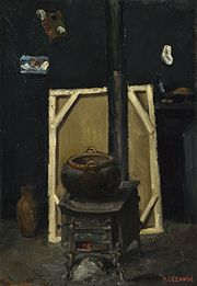 Paul Cézanne, The Stove in the Studio, ca. 1865.jpg