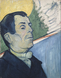 Paul Gauguin - Portrait of a man - Google Art Project
