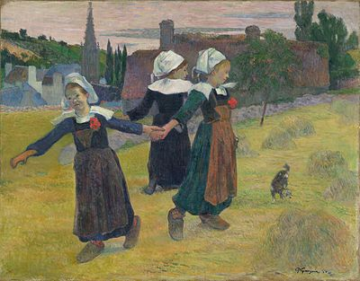 Pont Aven school, Paul Gauguin