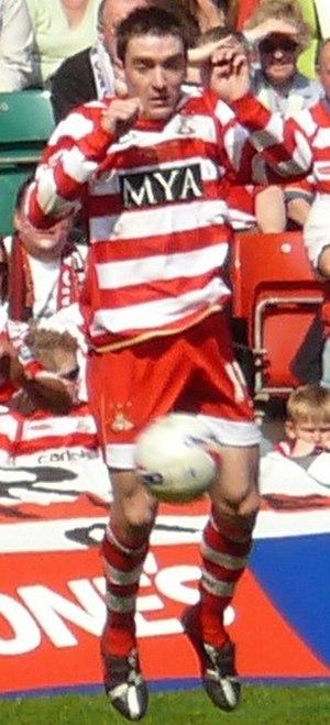 Paul Heffernan - Heffernan playing for Doncaster Rovers
