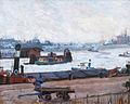 Paul Kayser Hamburger Hafen im Winter c1908-10.jpg