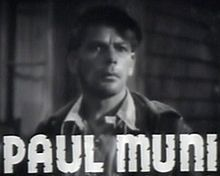 Paul Muni in Black Fury trailer.jpg