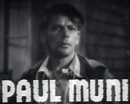 Paul Muni in Black Fury