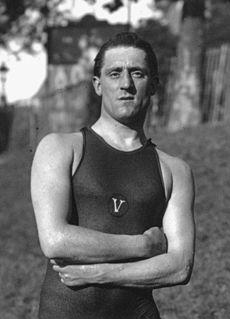 Paul Radmilovic British swimmer and water polo player