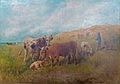 Paul Schouten - Zomerlandschap met vee.JPG