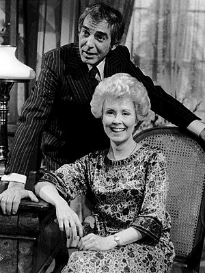 Paul Stevens (actor) - Stevens as Brian Bancroft with Beverlee McKinsey on Another World, 1977.