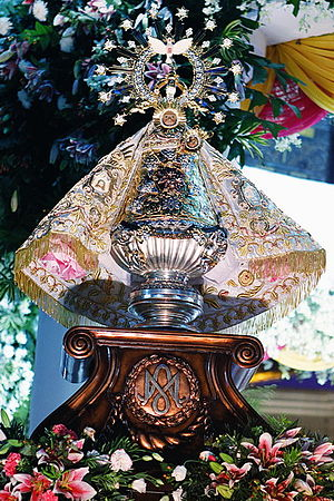 Titles of Mary - Our Lady of Peñafrancia in Naga City, Philippines