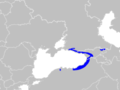 Pelodytes caucasicus range Map.png