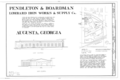 Pendleton and Boardman Foundry, 636 Eleventh Street, Augusta, Richmond County, GA HAER GA,123-AUG,50B- (sheet 1 of 1).png