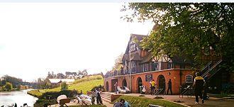 Pengwern Boat Club - Image: Pengwern Boat Club Club House