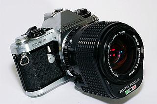 Pentax ME F digital camera model