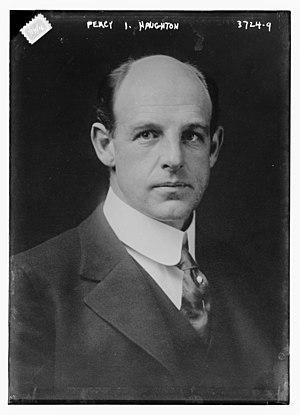 Percy Haughton - Image: Percy Duncan Haughton in 1916
