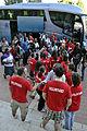 Peregrinos de Tanzania 11 JMJ2011Valladolid.jpg