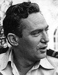 Photo of Peter Finch.