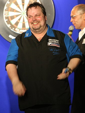 Peter Manley (pictured in 2007) reached the second world championship final of his career with a 6-4 win over Colin Lloyd. Peter Manley.jpg