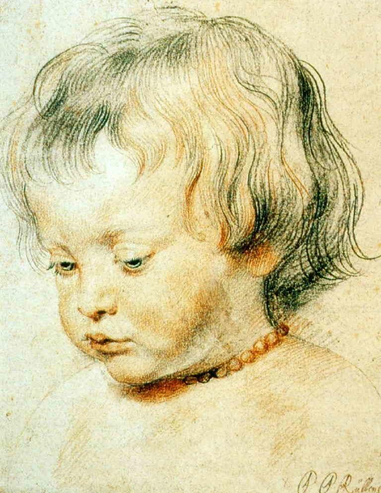 Peter Paul Rubens, Bildnis seines Sohnes Nikolas