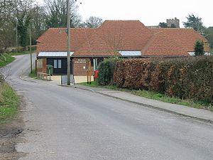 Petham - Image: Petham village hall, Kent, UK