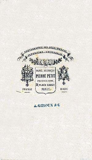 Pierre Petit (photographer) - The Pierre Petit Trademark