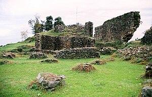 Petra, Lazica - Ruins of a fortress at Tsikhisdziri identified as Petra