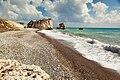 Petra tou romiou beach.jpg