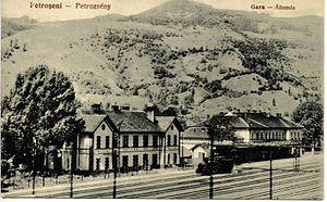 Petroșani - Image: Petroșani 1867