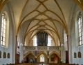 Pfarrkirche St. Peter Hartkirchen - Pocking 02 (Blick zur Empore).png