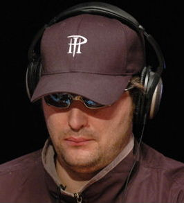 Phil Hellmuth op de National Heads-Up Poker Championships 2006