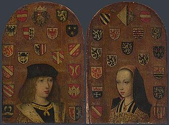 Margaret of Austria, Duchess of Savoy - Image: Philip the Handsome and Margaret of Austria