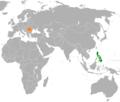 Philippines Romania Locator.png
