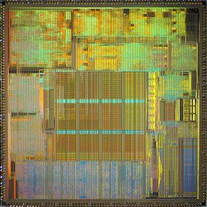 TriMedia (mediaprocessor) - Philips TriMedia TM-1100 die