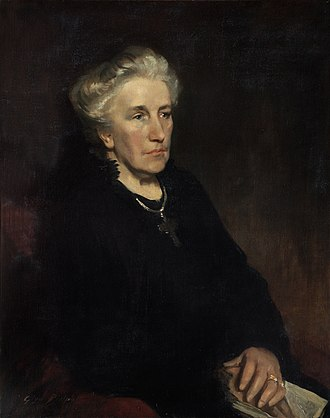 Louise Creighton - Louise Creighton, Wife of Mandell Creighton, Bishop of London, by Glyn Philpot