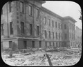 Photograph of destruction outside the San Francisco Mint after the 1906 Eartquake and Fire - NARA - 296587.tif