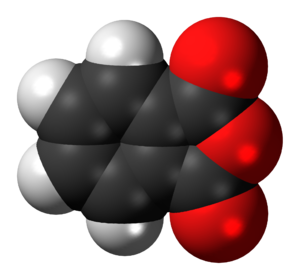 Phthalic anhydride - Image: Phthalic anhydride 3D spacefill
