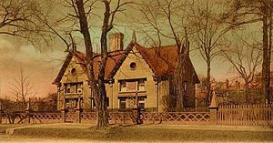 Pickering House (Salem, Massachusetts) - Pickering House in c. 1905