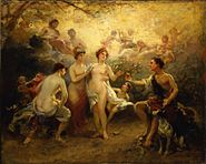 Picou, Henri Pierre - The Judgement of Paris - 19th century