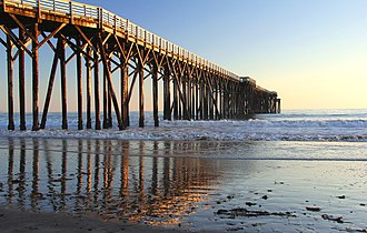 William Randolph Hearst Memorial State Beach - Pier at Hearst State Beach