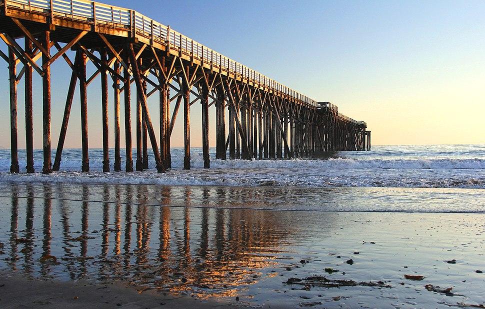 Pier, W.R. Hearst State Beach, San Simeon, Calif. (6444492983)