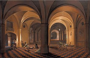 Pieter Neefs the Elder - Liberation of Saint Peter