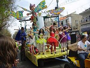 Adloyada - Adloyada carnival in Holon, 2011