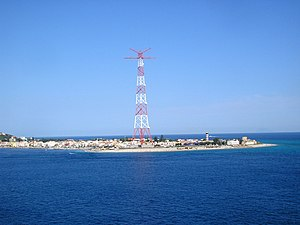 Pylons of Messina - The former electricity pylon at Torre Faro is open for visits since 2006