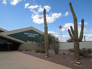 Pima Air & Space Museum Entrance.JPG