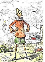 Illustration d'Enrico Mazzanti (1883)