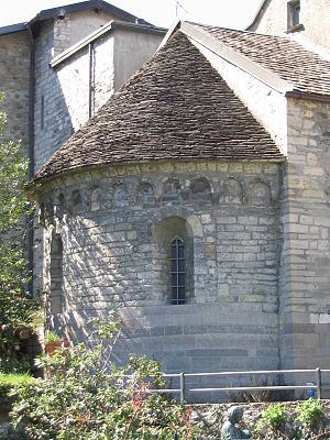 Piona Abbey - Apse of Saint Nicholas's church